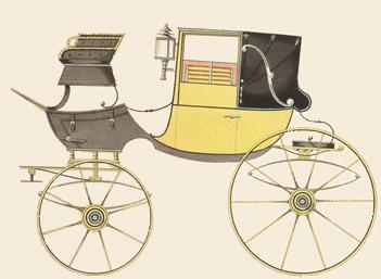 Coachbuilding - Landaulette from 1816, Courtesy of Wikipedia