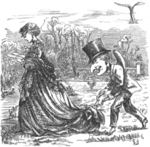 Punch's Suggestion of Police with Scissors, Public Domain