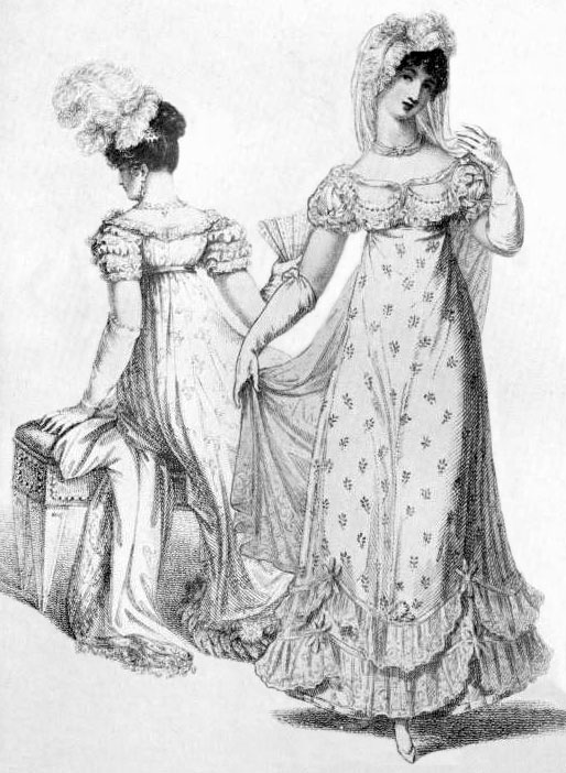 Women in Gloves, Public Domain