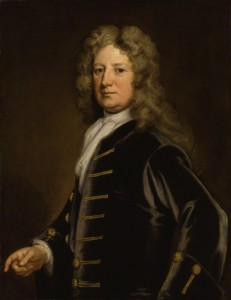 Thomas Wharton by Sir Godfrey Kneller, Courtesy of National Portrait Gallery