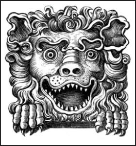 Button's Coffee House - Lion's Head, Public Domain