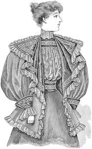 Tea Jackets: Ladies Tea Jacket