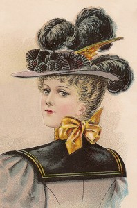 Ladies' Large Hat, Author's Collection