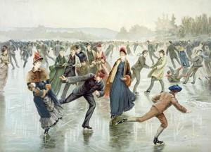 Skaters, Public Domain