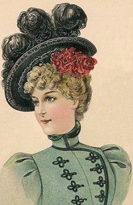 Ladies' Carriage Hat, Author's Collection