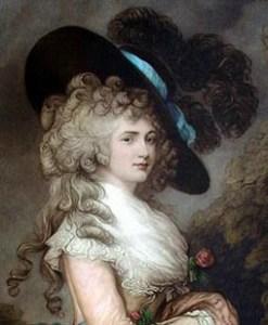 Georgiana Cavendish Duchess Of Devonshire Geri Walton