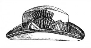 Alpine Hat from December 1896, Author's Collection