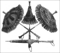 Parasols from 1875, Author's Collection