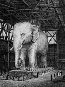 Fountain of the Elephant
