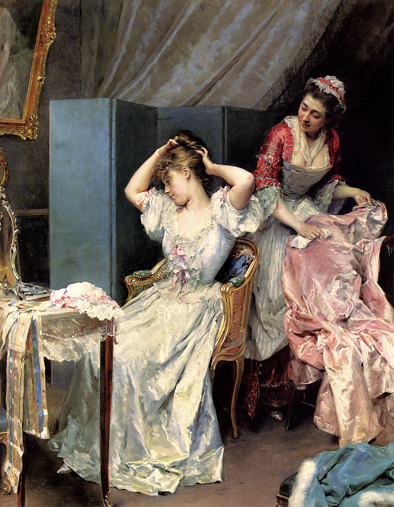 "Lady's Maid - ""La Toilette"""