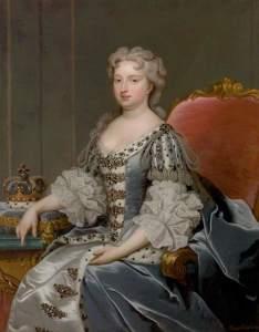 Princess Amelia Sophia's mother, Caroline of Ansbach.