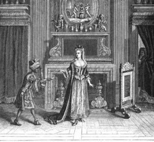 Day-rooms - Boudoir of Louis XVI's Time Period, Day-rooms