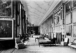 House Thoroghfares Consisted of Rooms such as this Gallery of the 1890s