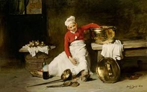 Kitchen Boy, Courtesy of Wikipedia