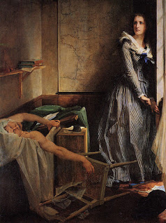 Stories about the French Revolution - Corday's murder of Jean-Paul Marat.