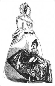 Corsica Fairy in Comparison to a Normal Woman, Public Domain