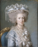 donkey rding  - Labille-Guiard's painting of Madame Adélaïde