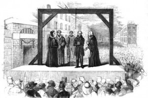 Georgian Era execution of James Greenacre, Public Domain