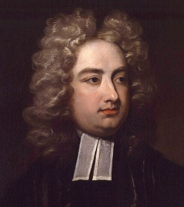 Jonathan Swift, Courtesy of Wikipedia