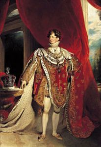 four king Georges - George IV, Courtesy of Wikipedia