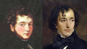 (Left to right) d'Orsay and Benjamin Disraeli in 1852, Public Domain
