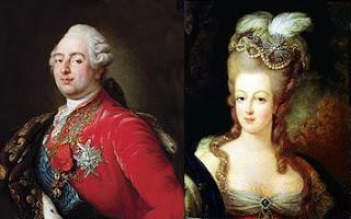 Louis XVI and Marie Antoinette, Public Domain