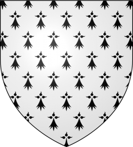Coat of Arms of the Former Duchy of Brittany, Courtesy of Wikipedia