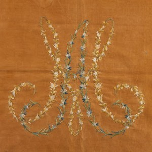 Passon for flowers - Marie Antoinette's embroidery of a Fire Screen