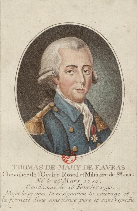 Favras Plot - Marquis de Favras