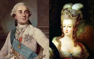 Disagreement Between Louis XVI and Marie Antoinette