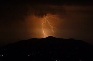 Example of Thunderstorm with Lightning and Victorian Accidents, Courtesy of Wikipedia