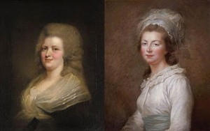 (Left to right) Marie Clothilde and Éisabeth, Public Domain