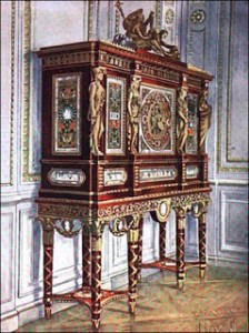 Marie Antoinette's Jewel Cabinet