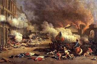Tuileries Palace attack on August 10th, Courtesy of Wikipedia