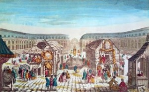 Fair of St. Ovide's While at Place Vendome, Public Domain