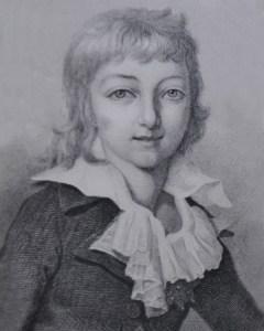 Louis XVI's will - his son the future Louis XVII