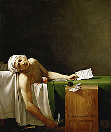 - Marat Painting by Jacques-Louis David, Courtesy of Wikipedia