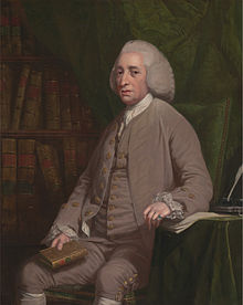 Tobias George Smollett, by Nathaniel Dance-Holland, ca. 1764, French Customs, Courtesy of Wikipedia