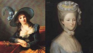 Madame de Tourzel and Princesse de Lamballe, Author's Collection