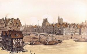 Hôtel de Ville in 1583, Courtesy of Wikipedia