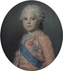 Future Louis XVIII