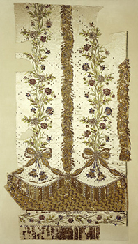 Facts about France - Fabric scrap of Marie Antoinette