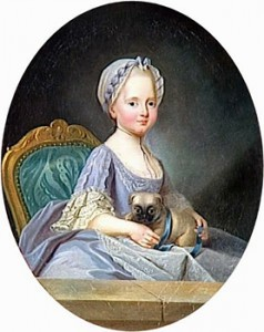 Madame Élisabeth in 1768, Courtesy of Wikipedia