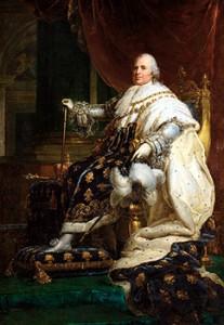 Portrait of Louis XVIII by François Gérard, Courtesy of Wikipedia