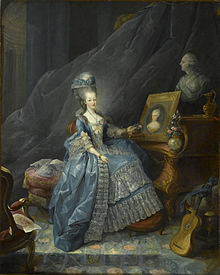 Count of Artois - his wife Marie Thérèse of Savoy, Courtesy of Wikipedia