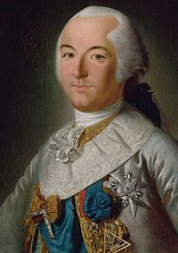 The Duke of Chartres with Insignia of the Grand Master of the Grand Orient de France, Courtesy of Wikipedia