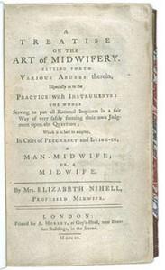 Elizabeth Nihell's Treatise, Courtesy of Wikipedia
