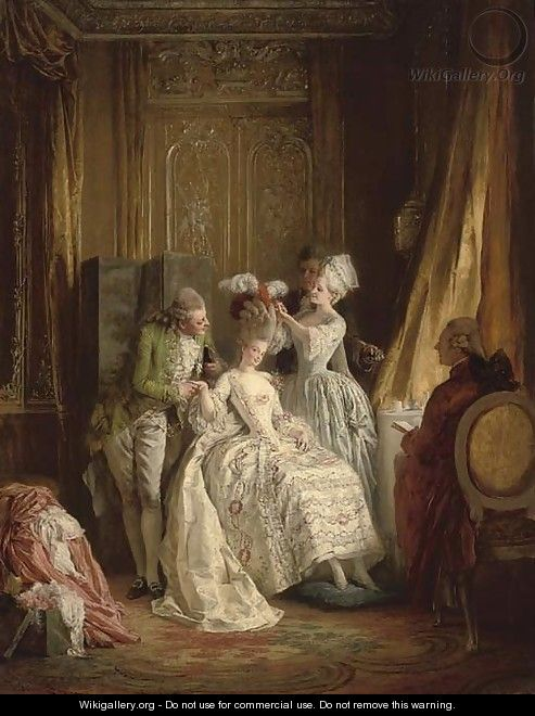 Marie Antoinette's daily schedule