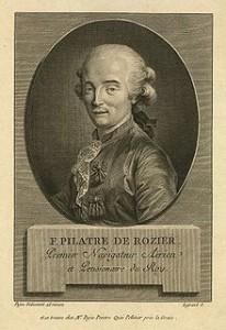 Pilatre de Rozier, Courtesy of Wikipedia