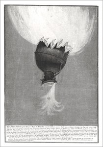 The Balloon on Fire, fatal balloon accident